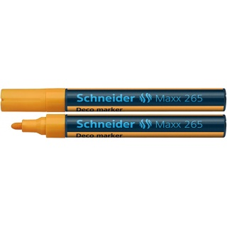 Marker SCHNEIDER kredowy Maxx 265 2-3mm, orange