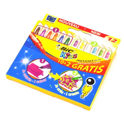 Flamastry BIC Kids Color Create 12szt.