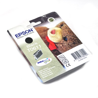 Cartridge Epson T0611 [8ml l black]