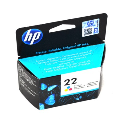 Cartridge HP No. 22 [5 ml | tri-colour]