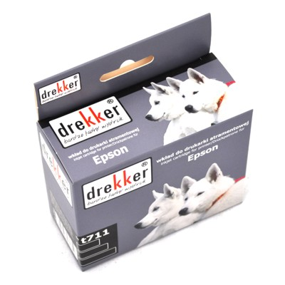 Cartridge Epson T0711 alt. Drekker [black]